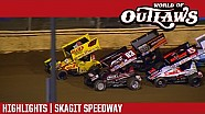 World of Outlaws Craftsman Sprint Cars Skagit Speedway September 3rd, 2016 | HIGHLIGHTS