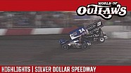 World of Outlaws Craftsman Sprint Cars Silver Dollar Speedway September 10th, 2016 | HIGHLIGHTS