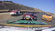 Amazing footage of GT-R GT3 getting airborne and sideways at Sonoma (Pirelli World Challenge)