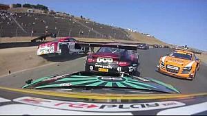 Amazing footage of GT-R GT3 getting airborne and sideways at Sonoma (Pirelli World Challenge)