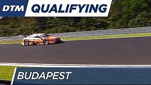 Budapest: Top 3 im 1. Qualifying