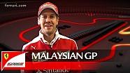 El GP de Malasia con Sebastian Vettel - Scuderia Ferrari 2016