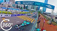 Hong Kong ePrix Race Start, 360°! - Formula E