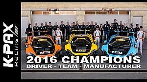 K-PAX Racing Wins 2016 Championship