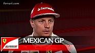 El GP de México con Kimi Raikkonen - Scuderia Ferrari 2016