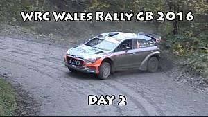 WRC Wales Rally GB 2016 Day 2
