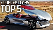 Top 5 E Concept Cars From Paris Motor Show! - Formula E