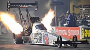 Antron Brown lights up the night taking the No 1 spot in Pomona