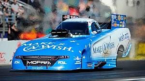Funny Car driver Tommy Johnson Jr. wins Auto Club NHRA Finals