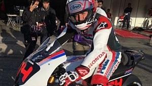 Alonso e Márquez andam de moto em Motegi