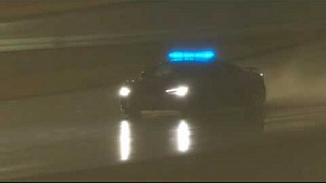 Дрифт сейфти-кара Audi R8 Safety в «Ле-Мане»