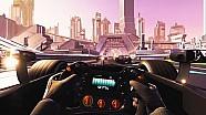 La realtà virtuale della Jaguar Racing a Parigi