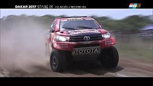 Dakar 2017 - Etappe 1: Wagens en motoren