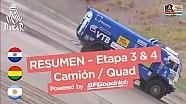 Resumen Etapas 3 y 4 - Quad/Camión - (San Salvador de Jujuy / Tupiza) - Dakar 2017