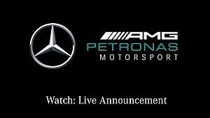 Mercedes-AMG Petronas Motorsport - Annuncio Live