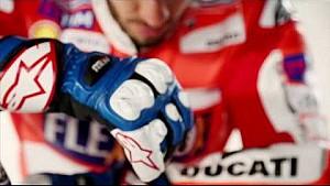 Ducati MotoGP Team 2017 - shooting backstage