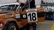 El SEAT 124 1800 vuelve al Rally de Monte Carlo histórico