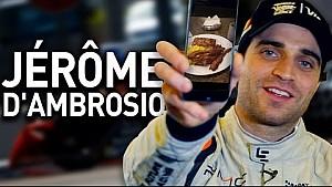 What's On Jérôme d'Ambrosio's Phone? - Formula E