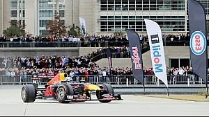 La démo de Daniel Ricciardo à Houston