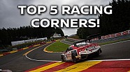 Top 5 Racing Corners!