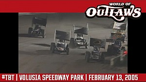 #ThrowbackThursday: World of Outlaws Craftsman Sprint Cars Volusia Speedway Park February 13, 2005