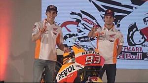 Presentación del Repsol Honda Team 2017