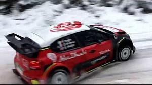 Kris Meeke en essais avant le Rallye de Suède