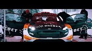 Test Ford Fiesta WRC 2017 - OneBet Jipocar World Rally Team