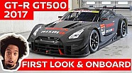 ¡Exclusivo! GT-R GT500 2017 Primer vistazo a bordo