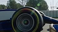 索伯官方出品-索伯C36赛车赛道首航