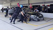 Feel the power, pressure of SHR's pit crew competition