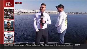 Clint Bowyer: ESPN SportsCenter Interview - Feb. 24, 2017