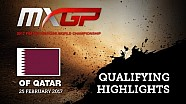 Highlights Kwalificatierace MXGP Qatar