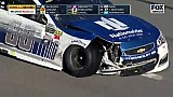 Race leader Dale Jr. caught up in multi-car crash - Daytona 500