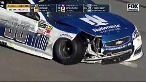 Аварія Дейл Ернхарда-молодшого за участю декількох машин - Daytona 500