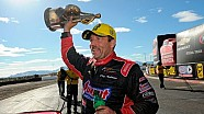 Greg Anderson raises the Wally in Phoenix