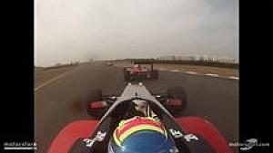 Presley Martono - Chennai Race 4 Onboard
