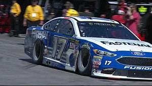 NASCAR in Las Vegas: Stenhouse Jr. in der Mauer