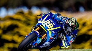 Les essais de Phillip Island de Suzuki MotoGP