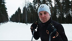 Extreme Winter F1 Training with Valtteri Bottas