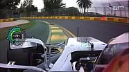 2017'nin ilk pole pozisyonu Lewis Hamilton'ın turu