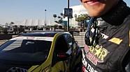 Fredric Aasbo FormulaD媒体日介绍全新卡罗拉赛车