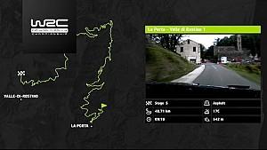 WRC - Tour de Corse 2017: Las etapas