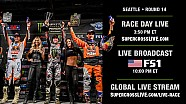 Live: Round 14 in Seattle - Race Day
