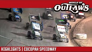 Sprint cars Cocopah speedway April 7, 2017 | highlights