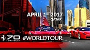 70 Years celebrations - Qatar, April 1st 2017