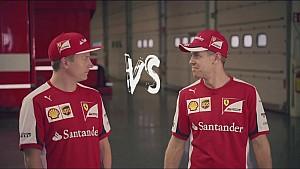 ¿Vettel vs Räikkönen?