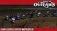 World of Outlaws Craftsman sprint cars Gator Motorplex April 13, 2017 | Highlights