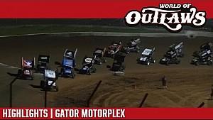 World of Outlaws Craftsman sprint cars Gator Motorplex April 13, 2017 | Highlights