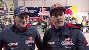 2017 Ten Kate pitstop day with Nicky Hayden and Stefan Bradl